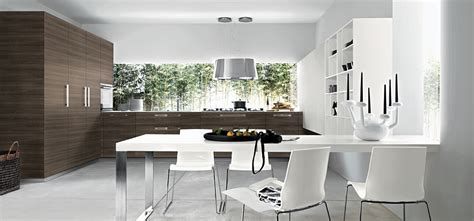11 Contemporary Kitchen Compositions with Urbane Elegance