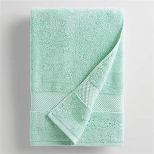aqua mist bath towel world market With aqua towels bathroom