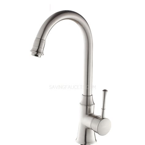 Inexpensive Kitchen Faucets by Brass Chrome Rotatable Inexpensive Kitchen Faucets