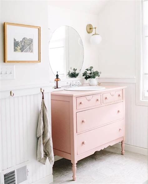 my pink vanity decorating with color blush pink beneath my