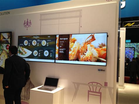 cuisine tv menut 1000 images about digital signage on