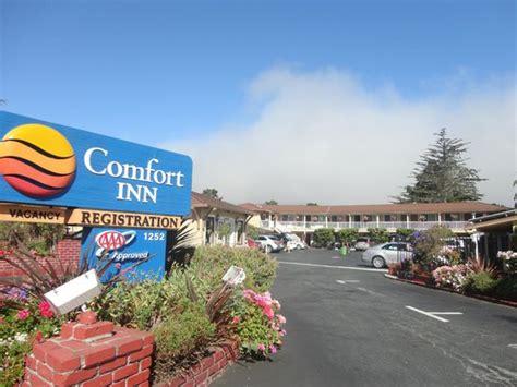 comfort inn monterey einfahrt zum hotel picture of comfort inn monterey by
