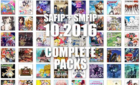 Square Anime Folder Icons Square Anime Folder Icons