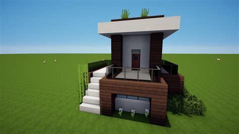 Modernes Haus Minecraft Klein by Minecraft Kleines Modernes Haus Bauen Tutorial Haus 105