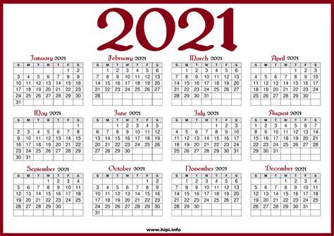 printable  calendar   holidays red color