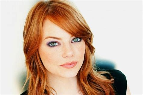 next cut/color // Emma Stone, Actress, Singer, Red hair