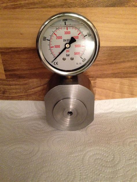 project diy force gauge  testing vise