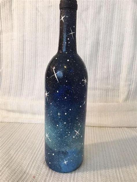 decorative bottles galaxy decorative wine bottle read