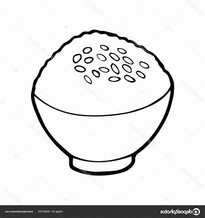 Rice Drawing Cartoon Background Drawings Paintingvalley