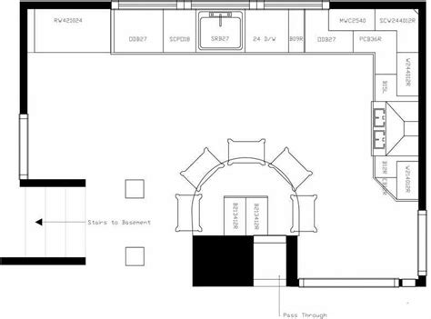 kitchen floor planner free design kitchen floor plan plans island house plans 54637 4802