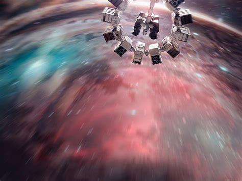 af interstellar film space art illust papersco
