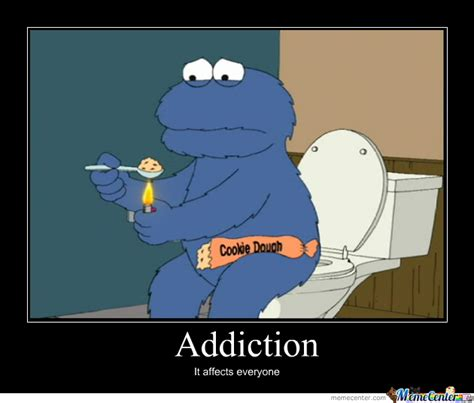 Cookie Monster Meme - cookie monster druggie by dionearl meme center