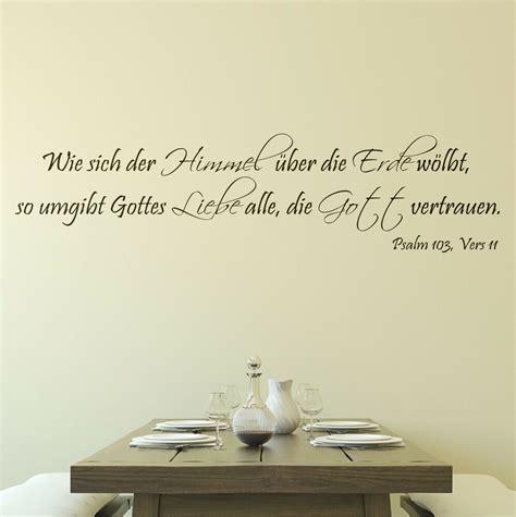 himmel liebe psalm gott wandtattoo 110cm flur text zitat