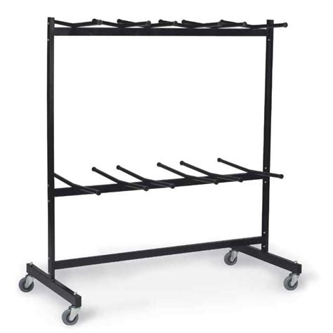 midwest folding products two tier folding chair caddy