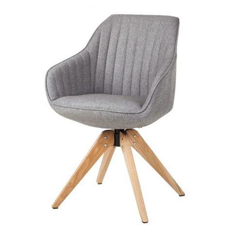 Fashion For Home Stühle by Armlehnenstuhl Ermelo Drehbar Webstoff Eiche Massiv