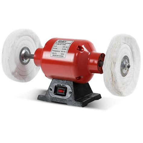 Polishing Wheel For Bench Grinder by 8 Inch Benchtop Buffer Polisher Grinder Heavy Duty 3 4hp