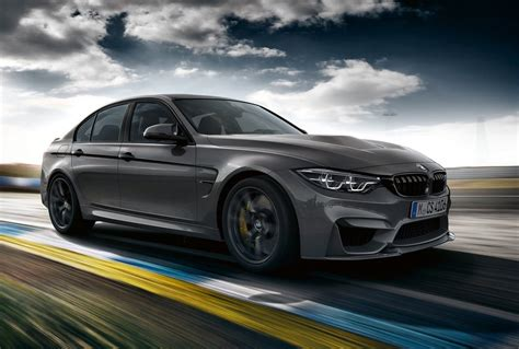 2018 Bmw M3 Cs Officially Revealed; More Power, More Aero