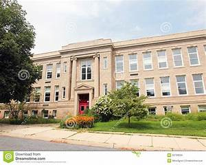 Old School Building stock photo. Image of learning ...