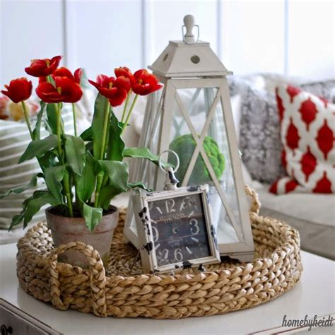 home decor tray i need to find me just the right wicker tray lanterns