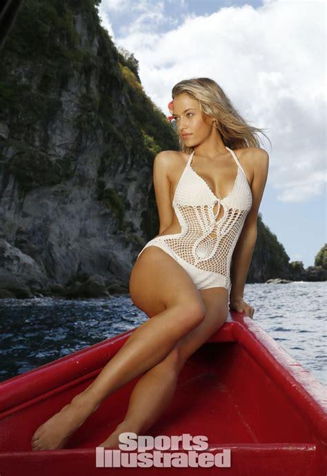 hannah ferguson hot  bikini sports illustrated  swimsuit issue