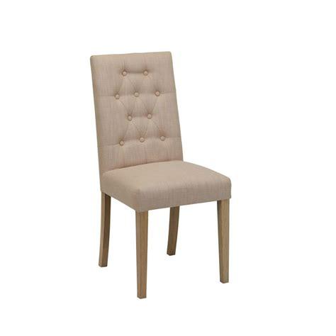 chaise de bonn chaise en tissu capitonné et frêne albane beige interior 39 s