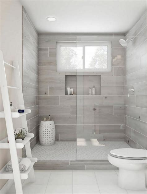 Bathroom Tile Home Depot by Msi Havenwood Platinum White 8 In X 36 In Glazed