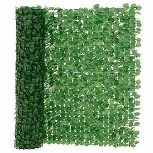 neuhausr blatterzaun grun sichtschutz windschutz zaun With französischer balkon mit sichtschutz gartenzaun grün