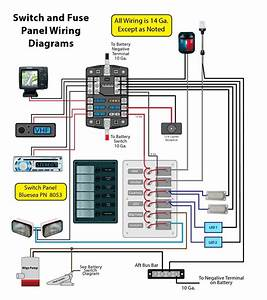 Wiring For A Switch Panel And Bus Bar  Page  1