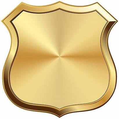 Badge Transparent Clipart Frame Yopriceville Golden Badges