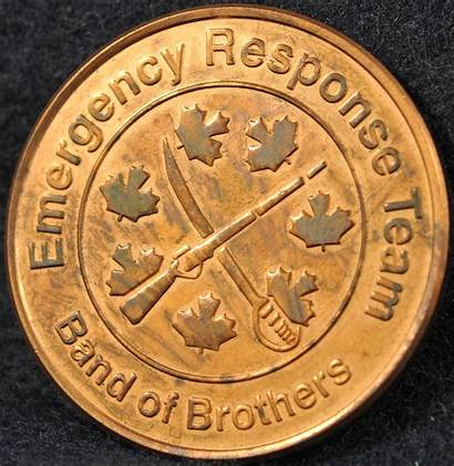 Rcmp Team Response Emergency Division Coins Canadian