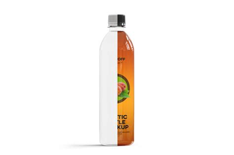 If you want to use this item for another project, please add a new one using your free quota. 0,5L Iced Tea Bottle Mockup By Green Art | TheHungryJPEG.com