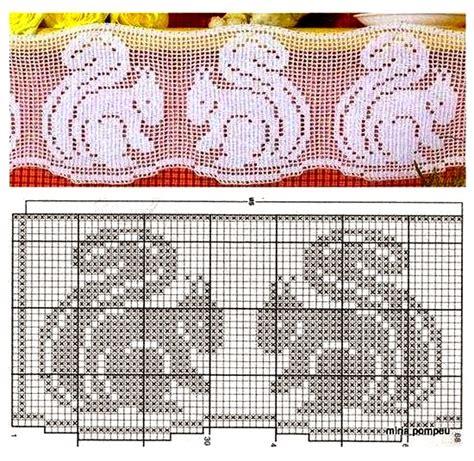 rideaux au crochet fait patrons gratuits crochet et plus crochet et plus