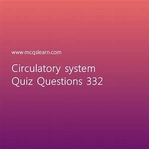 Learn Quiz On Circulatory System  O Level Biology Quiz 332