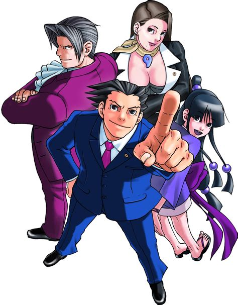 gaming impressions phoenix wright trilogy business
