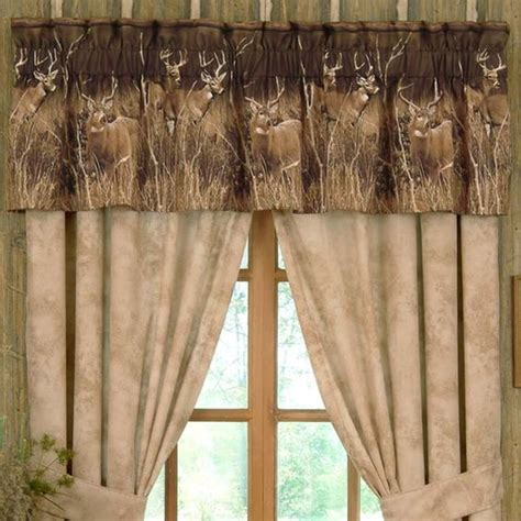 image detail for rustic curtains cabin window