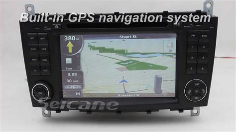 Mercedes Benz C Class W203 Stereo Specialized Gps