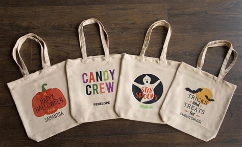 personalized halloween trick  treat bags qualtry