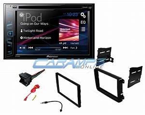 New Pioneer Car Stereo Radio  U0026 Cd  Dvd Player With Intallation Kit For Volkswagen