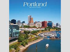 Portland 2019 12 x 12 Inch Monthly Square Wall Calendar