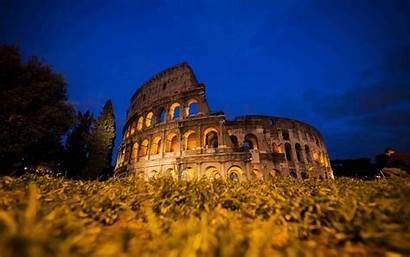 Rome Ancient Background Ruins Roman Buildings Architecture
