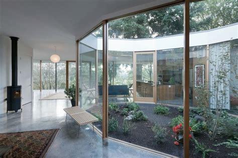 patio interior cincuenta ideas modernas  decorarlo