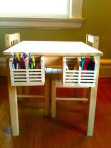 svala kids art table with storage ikea hackers ikea