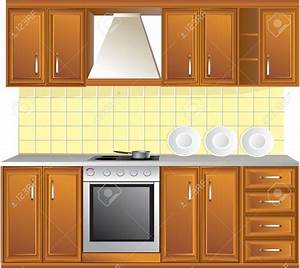 Kitchen Clipart Kitchen Background Pencil And In Color