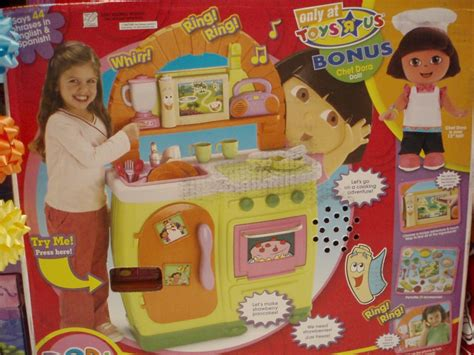 Fisher Price Dora The Explorer Chef Baker Cooking