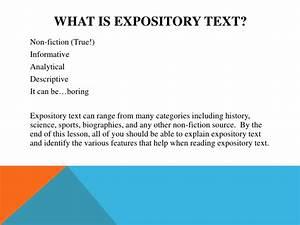 Explain expository essay