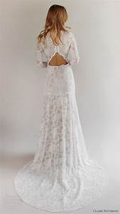 Latest lace flowers wedding dresses spring 2017