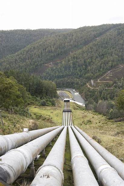 Water Pipes Hydro Power Electric Station Carry