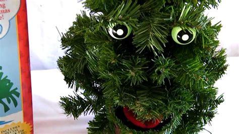 gemmy douglas fir the talking tree hd youtube