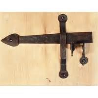 clenche de porte en fer forge quincaillerie de la forge With clenche de porte exterieur
