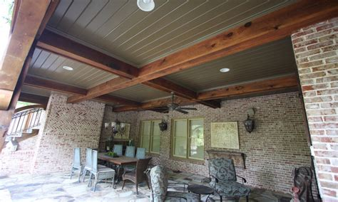 cheap outdoor flooring ideas covered porch ceiling ideas